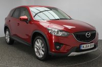 USED 2014 64 MAZDA CX-5 2.2 D SPORT NAV 5DR 173 BHP HEATED LEATHER SEATS + SATELLITE NAVIGATION + REVERSE CAMERA + BOSE PREMIUM SPEAKERS + BLUETOOTH + PARKING SENSOR + CRUISE CONTROL + XENON HEADLIGHTS + ELECTRIC WINDOWS + RADIO/CD + ELECTRIC MIRRORS + ELECTRIC SEATS + 19 INCH ALLOY WHEELS
