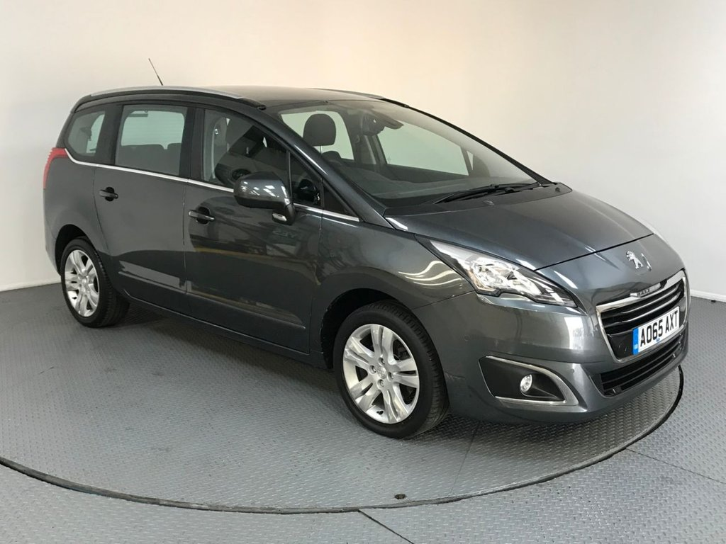 USED 2015 65 PEUGEOT 5008 1.6 BLUE HDI S/S ACTIVE 5d AUTO 120 BHP ONE OWNER - FULL SERVICE HISTORY - SEVEN SEATS - REAR SENSORS - CRUISE - BLUETOOTH - STOP/START