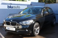"USED 2015 15 BMW 1 SERIES 2.0 116D SPORT 5d 114 BHP A gorgeous example serviced by BMW & BMW Specialists, over 65mpg, Automatic Headlights & Wipers, Bluetooth Connectivity, Diamond Cut 17"" Alloys!"