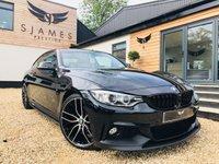 2015 BMW 4 SERIES 3.0 430D XDRIVE M SPORT 2d AUTO 255 BHP £21490.00