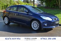 USED 2011 11 FORD FOCUS 1.6 TITANIUM X TDCI 5d 113 BHP JUST ARRIVED, FULL SERVICE HISTORY
