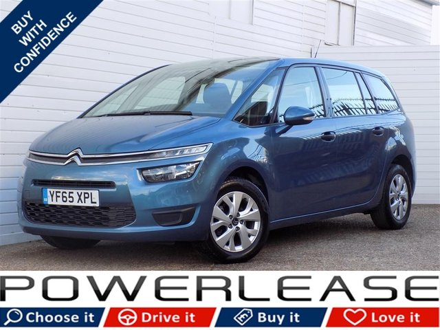 USED 2015 65 CITROEN C4 GRAND PICASSO 1.6 BLUEHDI VTR 5d 98 BHP FREE TAX FSH BLUETOOTH 7 SEATS