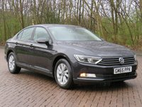 USED 2015 65 VOLKSWAGEN PASSAT 1.6 S TDI BLUEMOTION TECHNOLOGY 4d 119 BHP