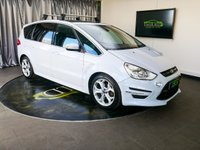 USED 2013 63 FORD S-MAX 2.2 TITANIUM X SPORT TDCI 5d 197 BHP £0 DEPOSIT FINANCE AVAILABLE, 7 SEATS, AIR CONDITIONING, AUX INPUT, BI XENON HEADLIGHTS, BLUETOOTH CONNECTIVITY, CLIMATE CONTROL, CRUISE CONTROL, DAB RADIO, DAYTIME RUNNING LIGHTS, PANORAMIC ROOF, PARKING SENSORS, QUICK CLEAR HEATED WINDSCREEN, SATELLITE NAVIGATION, STEERING WHEEL CONTROLS, TINTED WINDOWS, TOUCH SCREEN HEAD UNIT, TRIP COMPUTER, USB INPUT