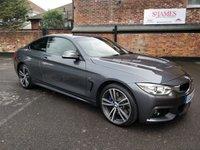 2015 BMW 4 SERIES 3.0 430D XDRIVE M SPORT 2d AUTO 255 BHP £20990.00