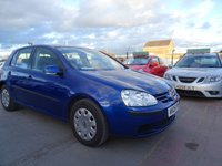 2005 VOLKSWAGEN GOLF 1.4 S FSI GOOD SERVICE DRIVES A1 £1695.00