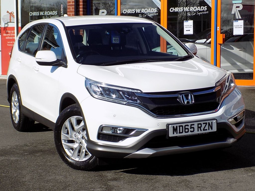 USED 2015 65 HONDA CR-V 1.6 i-DTEC SE 5dr (Nav) ** Sat Nav & Rear Camera **