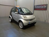 2004 SMART FORTWO 0.7 PASSION SOFTOUCH 2d AUTO 61 BHP £1995.00
