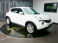 USED 2013 N NISSAN JUKE 1.6 ACENTA PREMIUM 5d 117 BHP £0 DEPOSIT FINANCE AVAILABLE, AIR CONDITIONING, AUX INPUT, BLUETOOTH CONNECTIVITY, CLIMATE CONTROL, CRUISE CONTROL, DRIVE PERFORMANCE CONTROL, REVERSE CAMERA, STEERING WHEEL CONTROLS, TRIP COMPUTER, USB INPUT