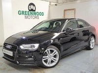USED 2015 15 AUDI A3 1.6 TDI S line 4dr