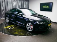 USED 2014 64 AUDI A3 2.0 TDI S LINE 4d AUTO 148 BHP £0 DEPOSIT FINANCE AVAILABLE, AIR CONDITIONING, AUDI DRIVE SELECT, BLUETOOTH CONNECTIVITY, CLIMATE CONTROL, DAB RADIO, DAYTIME RUNNING LIGHTS, ELECTRONIC PARKING BRAKE, FLAT BOTTOM STEERING WHEEL, GEARSHIFT PADDLES, START/STOP SYSTEM, STEERING WHEEL CONTROLS, S TRONIC GEARBOX, TRIP COMPUTER, VOICE ACTIVATED CONTROLS