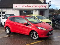 2012 FORD FIESTA 1.2 Edge 3 door £4499.00