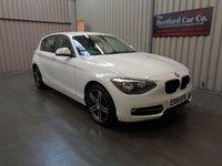 2015 BMW 1 SERIES 1.6 116I SPORT 5d 135 BHP £11495.00