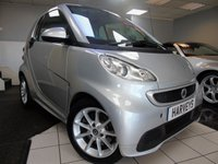 2013 SMART FORTWO 1.0 PASSION MHD 2d AUTO 71 BHP £4950.00