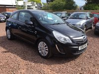 USED 2011 61 VAUXHALL CORSA 1.2 EXCITE AC 3d 83 BHP GREAT LOW MILEAGE EXAMPLE WITH FULL SERVICE HISTORY
