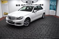 USED 2013 13 MERCEDES-BENZ C-CLASS 2.1 C220 CDI SE (Executive) 7G-Tronic Plus 4dr 2 OWNERS, FULL LEATHER, FSH