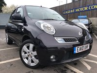 USED 2010 10 NISSAN MICRA 1.2 N-TEC 5d AUTO 80 BHP SMALL AUTOMATIC + ONE PREVIOUS OWNER + SAT NAV