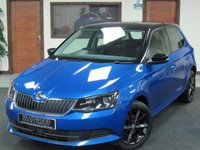 2017 SKODA FABIA 1.0 COLOUR EDITION MPI 5d 74 BHP £8999.00
