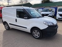 USED 2016 16 FIAT DOBLO 1.3 16V MULTIJET 90 BHP LOW MILEAGE