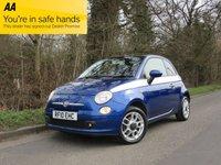 2010 FIAT 500 1.4 SPORT 3d 99 BHP £3995.00