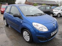 USED 2009 59 RENAULT TWINGO 1.1 FREEWAY 3DR FSH LOW MILEAGE LOW TAX SERVICE HISTORY