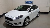 "USED 2016 16 FORD FOCUS 1.5 ZETEC S TDCI 5d 118 BHP 1 Owner/Ford Hist/Privacy/ £0 Tax/ Bluetooth /17""Alloys"
