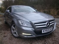 USED 2013 63 MERCEDES-BENZ CLS CLASS 3.0 Auto Coupe
