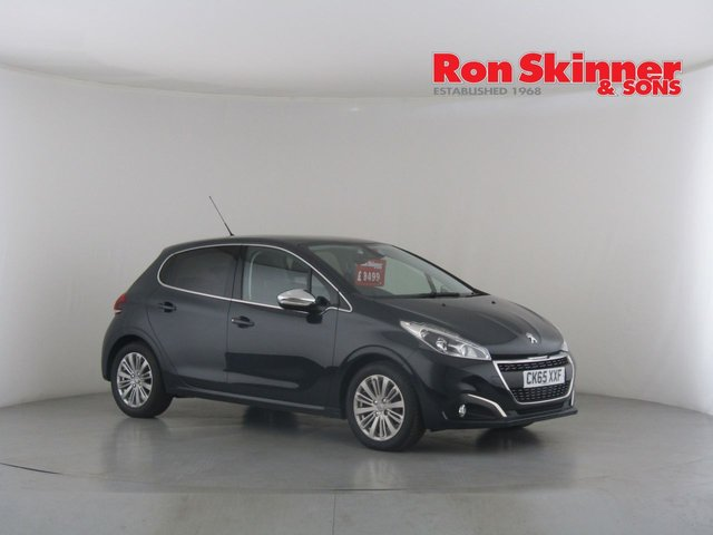 View our 2015 65 PEUGEOT 208 1.6 BLUE HDI ALLURE 5d 100 BHP