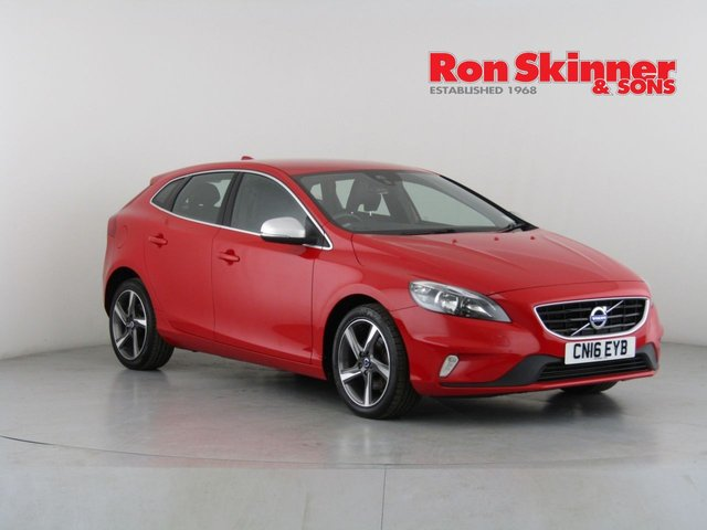 View our 2016 16 VOLVO V40 2.0 D2 R-DESIGN 5d 118 BHP