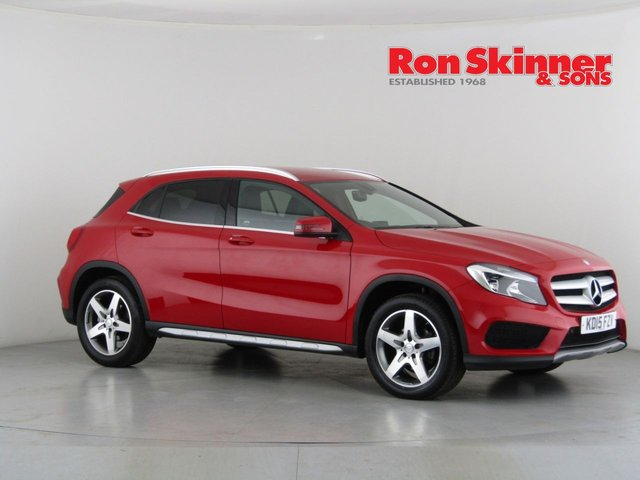 View our 2015 15 MERCEDES-BENZ GLA-CLASS 2.1 GLA200 CDI AMG LINE 5d 136 BHP