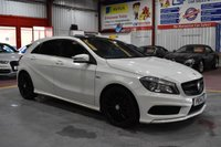 2014 MERCEDES-BENZ A-CLASS 2.1 A220 CDI BLUEEFFICIENCY AMG SPORT 5d AUTO 170 BHP £14795.00