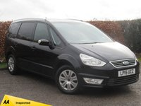 USED 2015 15 FORD GALAXY 2.0 ZETEC TDCI 5d AUTO ONE PREVIOUS OWNER***AUTOMATIC 7 SEATER