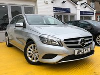 2013 MERCEDES-BENZ A CLASS 1.6 A180 BLUEEFFICIENCY SE 5d AUTO 122 BHP £13499.00