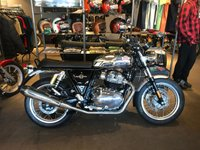 2019 ROYAL ENFIELD INTERCEPTOR 650 GLITTER AND DUST £5995.00