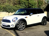 2008 MINI HATCH COOPER 1.6 COOPER D 3d FULL BLACK LEATHER, PAN ROOF, 8 SERVICES  £3490.00