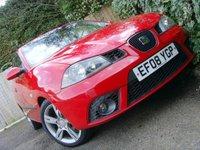 USED 2008 08 SEAT IBIZA 1.4 SPORTRIDER 3d 99 BHP