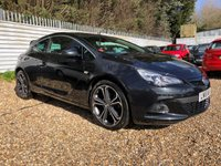 USED 2016 16 VAUXHALL ASTRA 1.4 GTC LIMITED EDITION S/S 3d 138 BHP