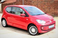 USED 2012 12 VOLKSWAGEN UP 1.0 HIGH UP 3d 74 BHP **** SAT NAV * BLUETOOTH * AIR CON * £20 ROAD TAX ****
