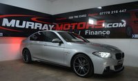 USED 2014 BMW 5 SERIES 2.0 520D M SPORT 4DOOR AUTO 188 BHP *M-PERFORMANCE KITTED*