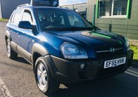 2005 HYUNDAI TUCSON 2.0 CDX 4WD 5 DOOR STATION WAGON £2195.00