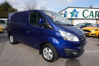 2015 FORD TRANSIT CUSTOM 270 2.2 TDCI 125 BHP SWB LIMITED 5DR ( TOP LEVEL MODEL ) £10689.00