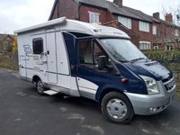 2008 FORD TRANSIT CAMPERVAN CONVERSION Hymer 2.2 MOTORHOME £25500.00
