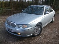USED 2001 ROVER 75 2.5 CONNOISSEUR SE