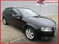 USED 2012 AUDI A3 1.6 TDI SE 5dr 103 BHP **LOCAL LADY OWNER VEHICLE**