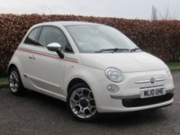 USED 2010 10 FIAT 500 1.2 LOUNGE 3d LOW LOW MILEAGE***ECONOMICAL AND STYLISH