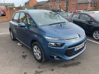 USED 2016 65 CITROEN C4 PICASSO 1.6 BLUEHDI VTR PLUS 5d 98 BHP Very low co2 emissions with £0 road tax, great spec with climate control, parking sensors, alloy wheels, media input and full service history