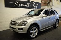 USED 2008 08 MERCEDES-BENZ M CLASS 3.0 ML280 CDI EDITION 10 5d AUTO 188 BHP EDITION 10 - 9 SERVICE STAMPS TO 85K - LEATHER - SAT NAV - PRIVACY - SIDE STEPS