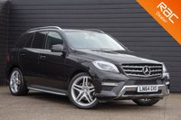 USED 2014 64 MERCEDES-BENZ M CLASS 3.0 ML350 BLUETEC AMG LINE PREMIUM 5d AUTO 258 BHP £0 DEPOSIT BUY NOW PAY LATER - NAV - REVERSE CAM - PAN ROOF