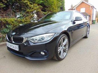 2015 BMW 4 SERIES 2.0 420D XDRIVE SPORT 2d AUTOMATIC £14990.00