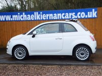 USED 2013 13 FIAT 500 1.2 C LOUNGE 3d 69 BHP VERY CLEAN CAR